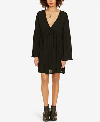Denim & Supply Ralph Lauren Empire-Waist Bell-Sleeve Dress $145 thestylecure.com