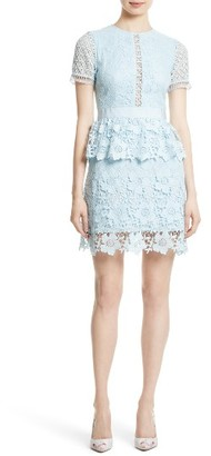 Women's Ted Baker London Dixa Layered Lace Skater Dress $465 thestylecure.com
