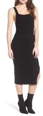 4SI3NNA Midi Body-Con Dress