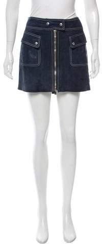 Michael Kors Suede Mini Skirt