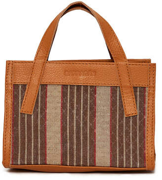 Barragán Leather and Weave Bag