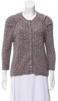 Marc Jacobs Button-Up Knit Cardigan
