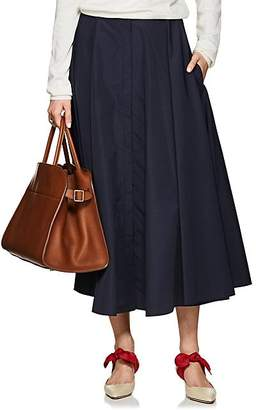 The Row Women's Saga Circle Skirt - Navy