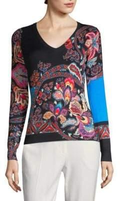Etro Fern Paisley Sweater