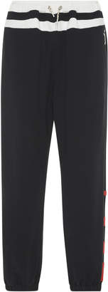 Marni Oversized Felted Cotton Joggers