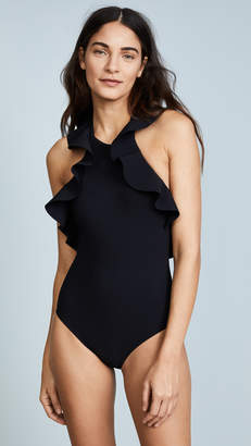 Karla Colletto Zaha High Neck One Piece