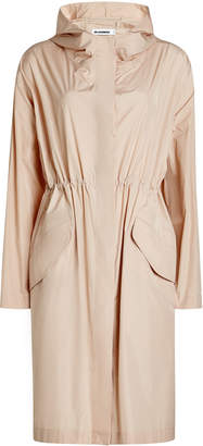 Jil Sander Coat with Gathered Waist