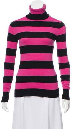 Marc by Marc Jacobs Striped Turtleneck Sweater