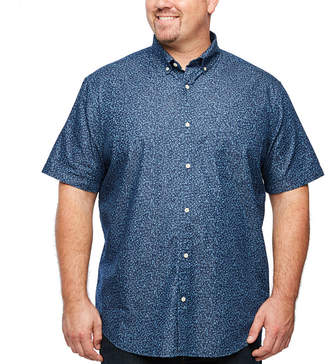 220ebf061930 Co THE FOUNDRY SUPPLY The Foundry Big   Tall Supply Mens Short Sleeve  Button-Front