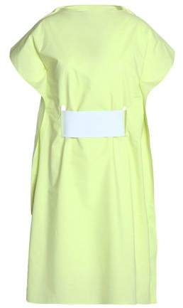 Layered Cotton-Poplin Shirt Dress