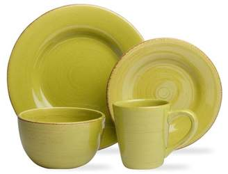 tag Sonoma 16-Piece Apple Green Dinnerware Collection