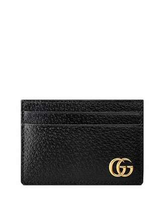 2bf5481682c Gucci Men s Leather Credit Card Case with Money Clip