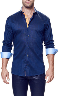 Maceoo Vogue Long Sleeve Trim Fit Shirt (Big & Tall Available) $148 thestylecure.com