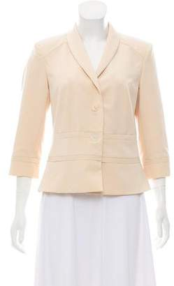 Magaschoni Three-Quarter Length Sleeve Blazer