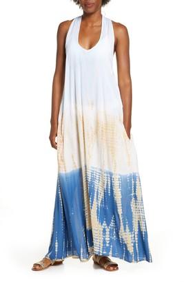 Elan International Braided Back Cover-Up Maxi Dress