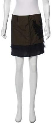 Maiyet Embroidered Tulle Mini Skirt