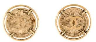 Chanel CC Coin Clip-On Earrings