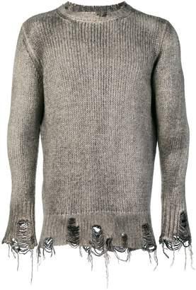 Avant Toi fisherman knit sweater