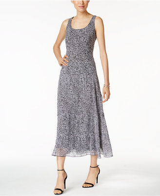 Nine West Printed Tiered Maxi Dress $89 thestylecure.com