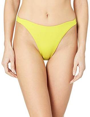 Swim Systems Women's High Dive Scoop Bikini Bottom Swimsuit