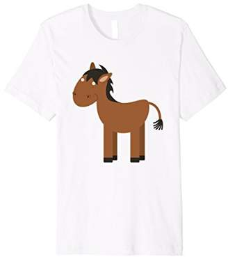 Lily and Emma by Eggroll Games: Oliver the Horse T-Shirt