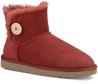 UGG Women's Mini Bailey Button Twinface Sheepskin Boot