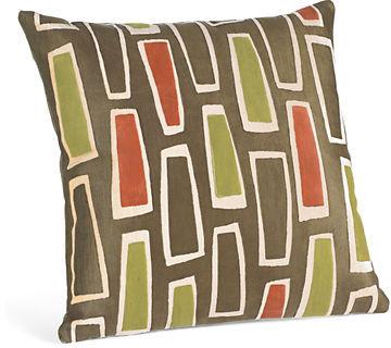 Rhumba Orange Pillow