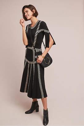 Tabula Rasa Pleated Contrast Dress
