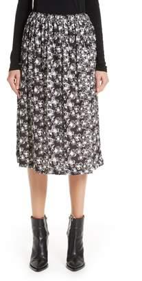 Comme des Garcons Floral Skirt