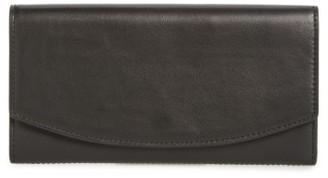 Women's Skagen Leather Wallet - Black $115 thestylecure.com
