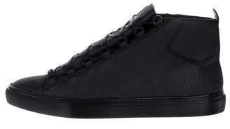 Balenciaga Snakeskin Arena Sneakers w/ Tags