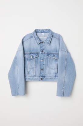 H&M Short Denim Jacket - Blue