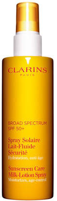 Clarins Sunscreen Care Milk Lotion Spray SPF 50