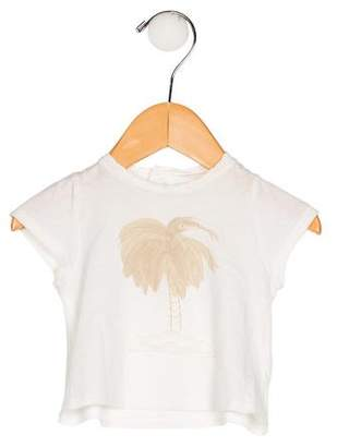 Chloé Girls' Printed Short Sleeve Top