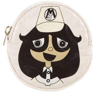 Marc by Marc Jacobs Graphic Patent Leather Coin Pouch