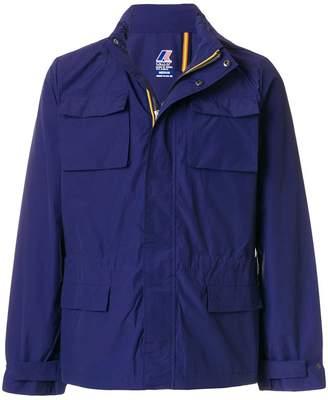 K-Way Elie cargo pocket hooded jacket