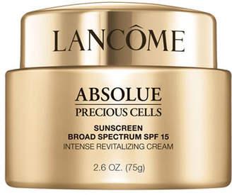 Lancôme Absolue Precious Cells Sunscreen Broad Spectrum SPF 15 Intense Revitalizing Cream, 2.5 oz./ 75 mL