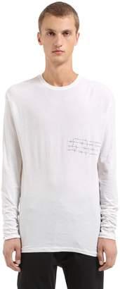 Isabel Benenato Heartbeat Jersey Crewneck T-Shirt