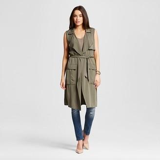 Mossimo Women's Long Vest $27.99 thestylecure.com