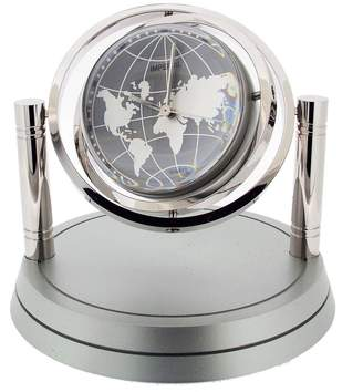 Gift Time Products Unisex Gyro Globe Desk Clock