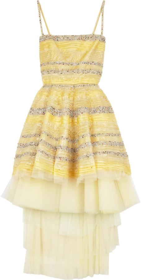 Fendi Tulle prom dress