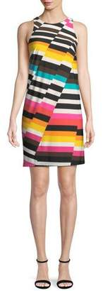 Trina Turk Macee Canyon Stripe Mini Dress