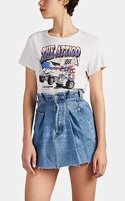 ATTICO RE/DONE + THE Women's Graphic Cotton T-Shirt - White