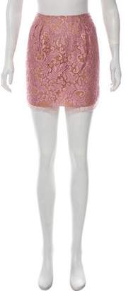 Philosophy di Alberta Ferretti Lace Mini Skirt w/ Tags