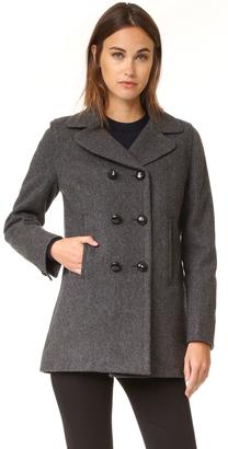 A.P.C. Harper Coat $575 thestylecure.com