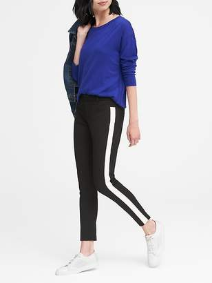 Banana Republic Petite Sloan Skinny-Fit Side-Stripe Ankle Pant