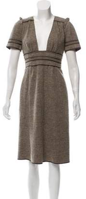Marc Jacobs Wool Midi Dress