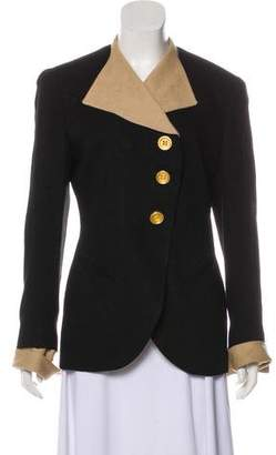 Christian Dior Collared Long Sleeve Jacket