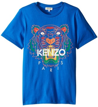 Kenzo Kids - Tiger 5 Tee Shirt Boy's T Shirt $61.60 thestylecure.com