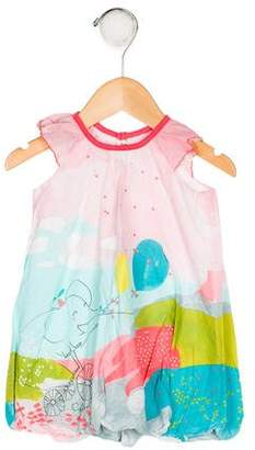 Catimini Girls' Printed Shift Dress